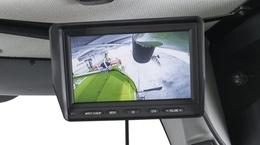 Камера заднего вида CEBIS. Зерноуборочный комбайн CLAAS TUCANO 580/570