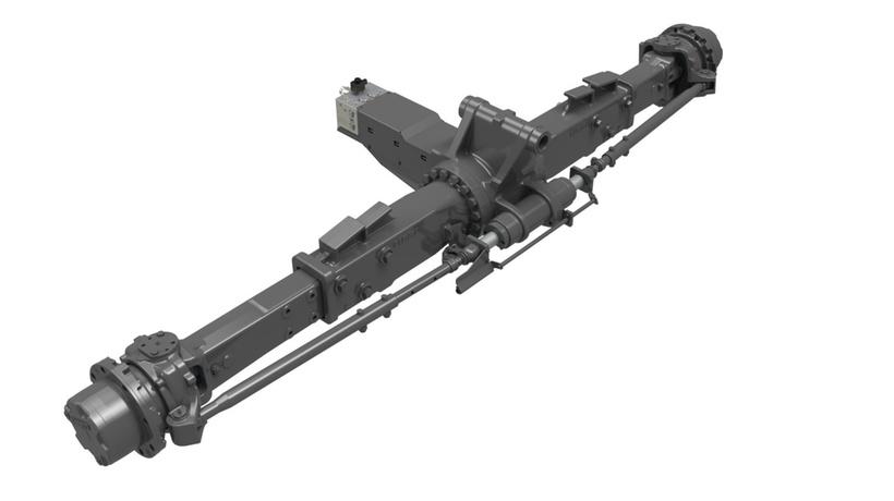 Привод. Зерноуборочный комбайн CLAAS TUCANO 580/570