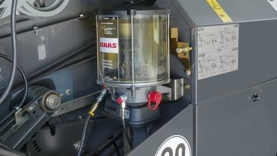 Централизованная смазка. Зерноуборочный комбайн CLAAS TUCANO 580/570