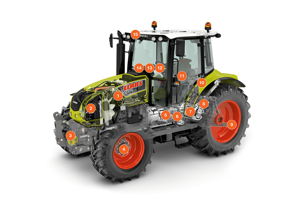 Трактор CLAAS ARION 410-430