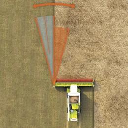 LASER PILOT. Зерноуборочный комбайн CLAAS TUCANO 580/570